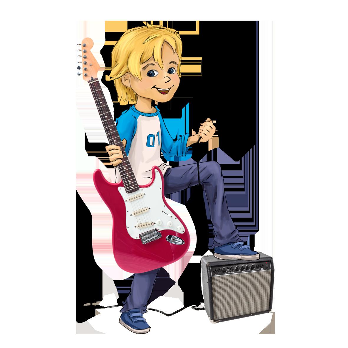 E-Gitarrengrößen