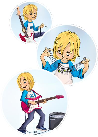 E-Gitarre-lernen-Kinder